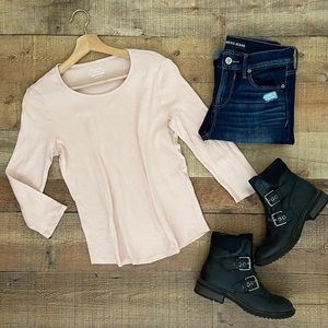 Blush Basic Ultimate Tee by Chicos